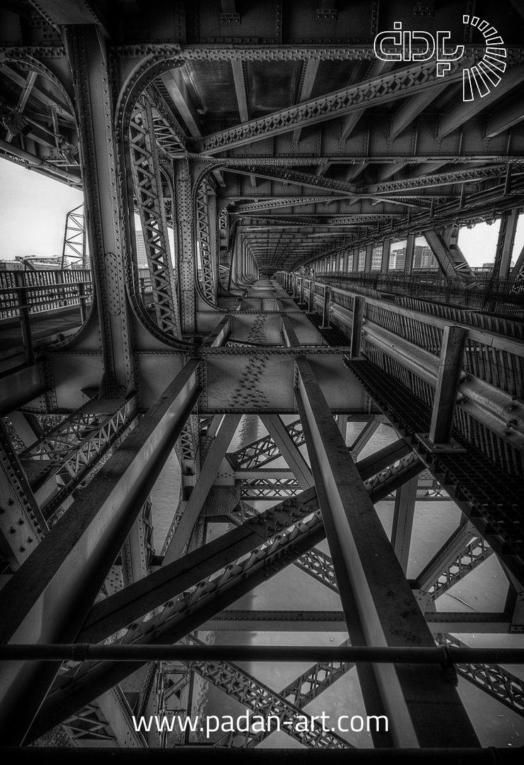 عکس های صنعتی - گروه هنری پادانعکاسی صنعتی بصورت سیاه و سفید