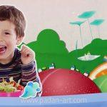 تیزر تبلیغاتی موشن گرافیک غذای خوب