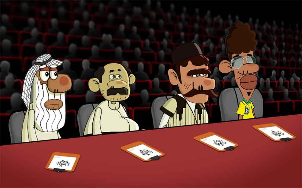 تصویری از قسمت خوانندگی هلل یوس