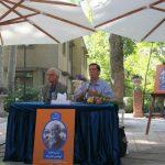ابوالحسن تهامی و علی دهباشی در کتابفروشی آینده