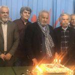 ابوالحسن تهامی و منوچهر اسماعیلی در کنار ناصر ملک مطیعی و رضا عطاران