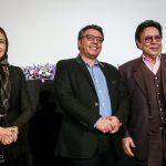 حسین عرفانی و کتایون ریاحی در مراسم بزرگداشت سه نسل از هنرمندان دوبله ایران