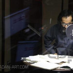 جلال ابوالمعصومی در استودیو موسیقی پادان