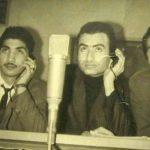 از راست به چپ: مهدی آرین نژاد٬ ناصر طهماسب و محمود قنبری