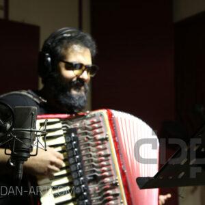 مهرداد مهدی در استودیو موسیقی پادان
