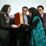 شوکت حجت ٬ حسین عرفانی و کتایون ریاحی در مراسم بزرگداشت سه نسل از هنرمندان دوبله ایران