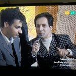 بهمن هاشمی و عادل فردوسی پور٬ جشنواره سیما ۱۳۸۰ با مجریگری بهمن هاشمی