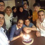 جشن تولد مهبد قناعتپیشه در مرکز دامپزشکی تهران ٬ قناعتپیشه دارای مدرک دکترای دامپزشکی میباشد.