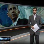 حسن توکلی در حال اجرا در شبکه PRESS TV