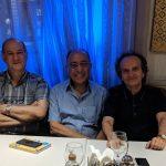 شهرداد روحانی ٬ ژرژ پطروسی ٬ مهران روحانی و سپهر تاجپور