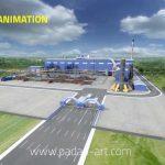 انیمیشن ۳D مدل سازی شده کارخانه فولاد
