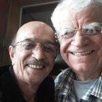 اکبر منانی همکار و دوست قدیمی تورج مهرزادیان