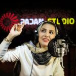 ژیلا صادقی در استودیو پادان