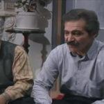 سیامک اطلسی در کنار محمد علی کشاورز در سریال قدیمی پدر سالار